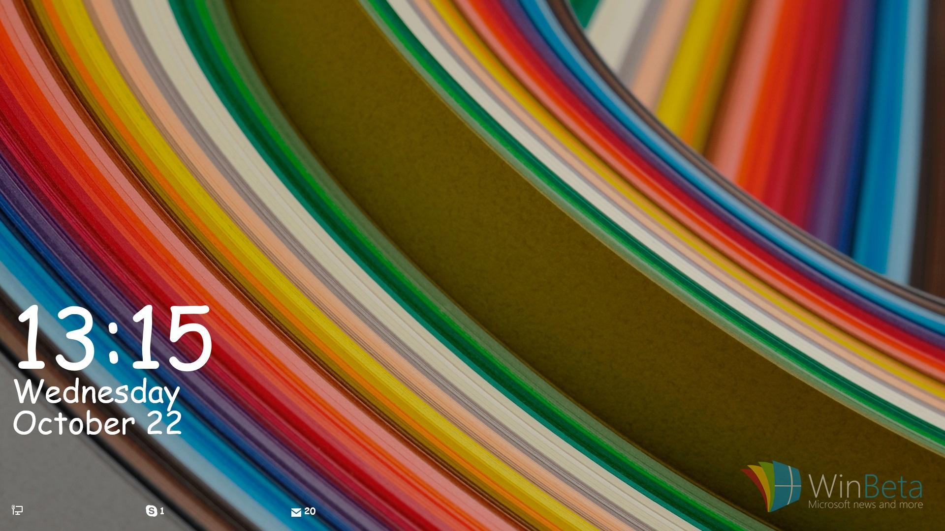 Windows 10 Bald Mit Anpassbarem Sperrbildschirm Wie Unter