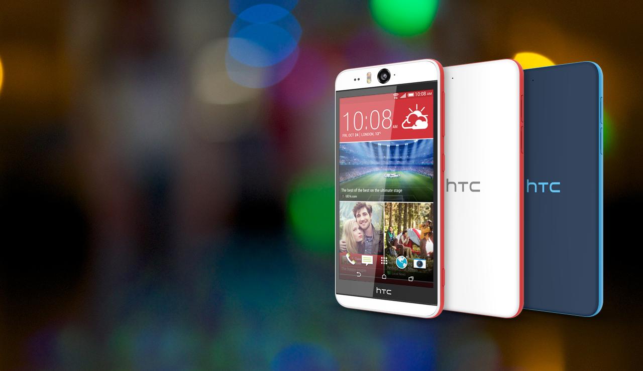 """HTC stellt """"Selfie-Smartphone""""  HTC Desire Eye offiziell vor"""