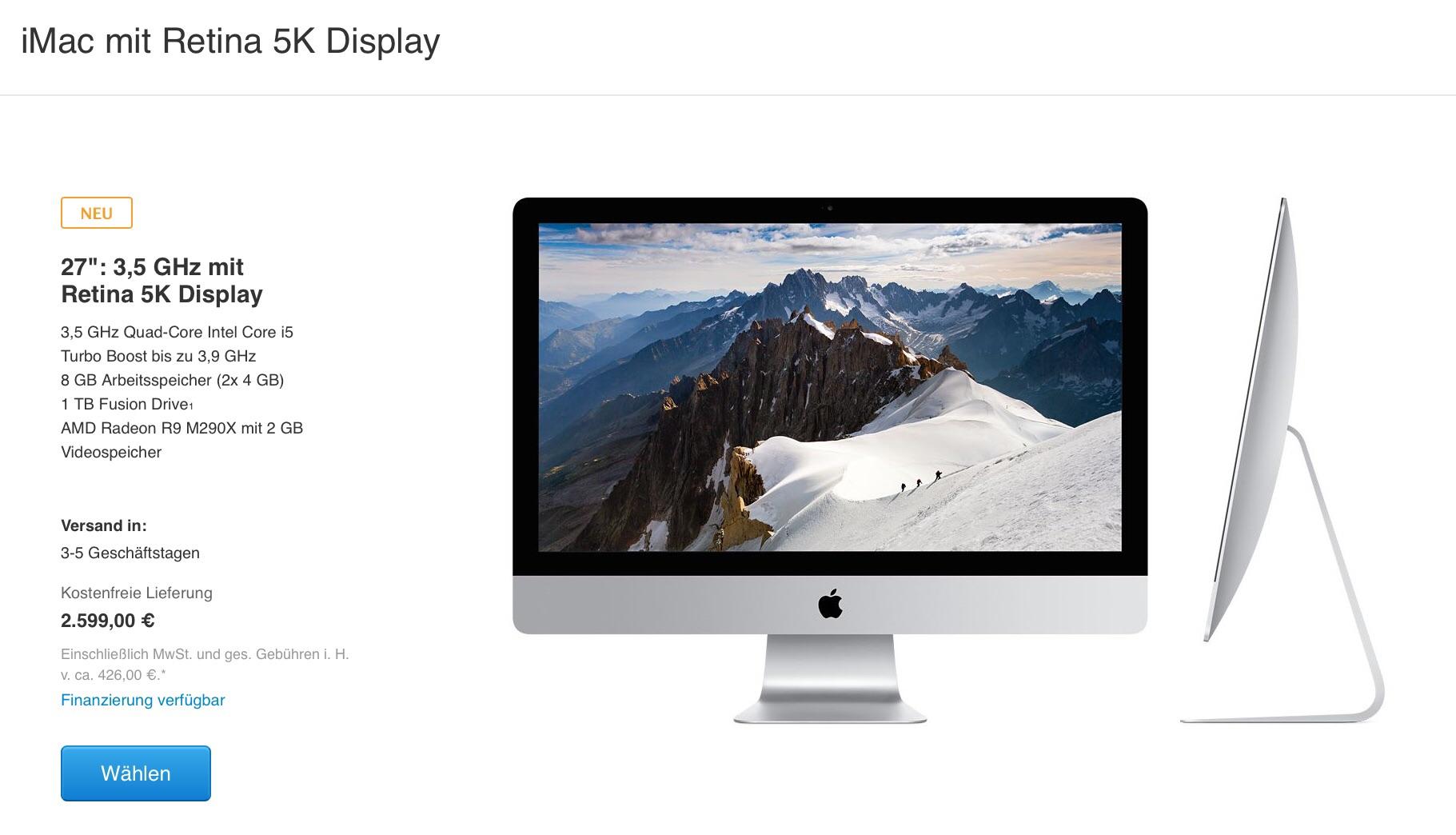 Apple stellt neues iPad Air 2, iPad mini 3, iMac-Retina und Mac mini 2014 vor