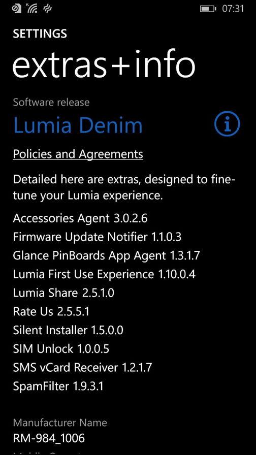 Lumia Denim Update in den nächsten Wochen