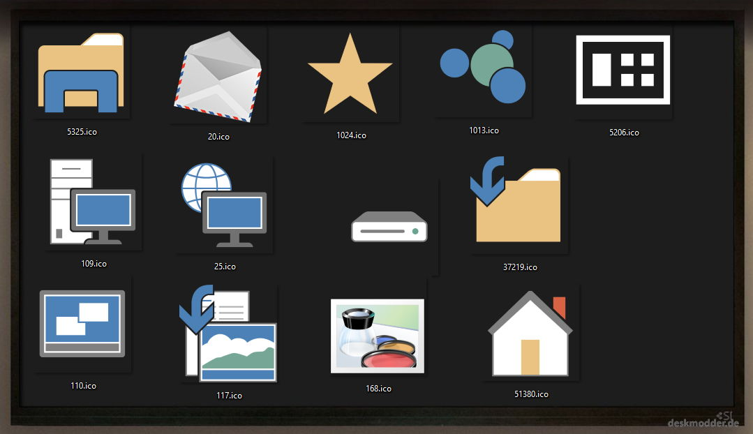Die neuen Icons in Windows 10