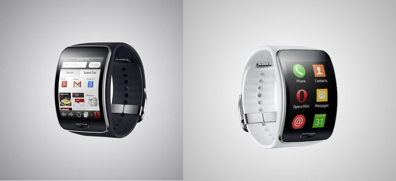Opera Mini ist der erste Browser für die Samsung Gear Smartwatches