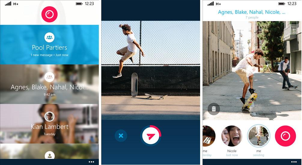 Skype Qik: Kurze Videos an Freund und Bekannte senden