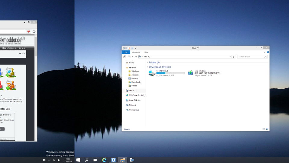 Zwischen den virtuellen Desktops wechseln Windows 10