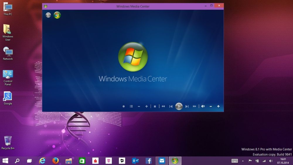 Windows 10: Media Center aus Windows 8.1 kann auch unter Windows 10 genutzt werden