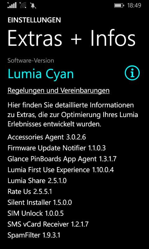 Lumia Cyan für Nokia Lumia 520 mit 'Preview for Developers' wird ausgerollt