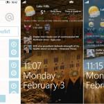 App des Tages: Awesome Lock – Den Sperrbildschirm mit Infos anpassen Windows Phone