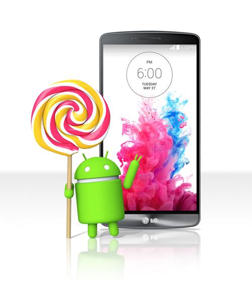 LG beginnt mit der Verteilung von Android 5.0 für das LG G3