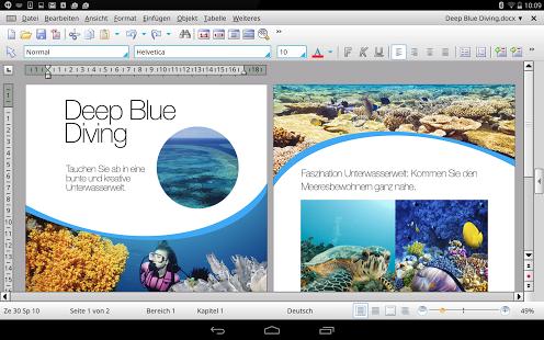 SoftMaker Office HD jetzt für Android verfügbar