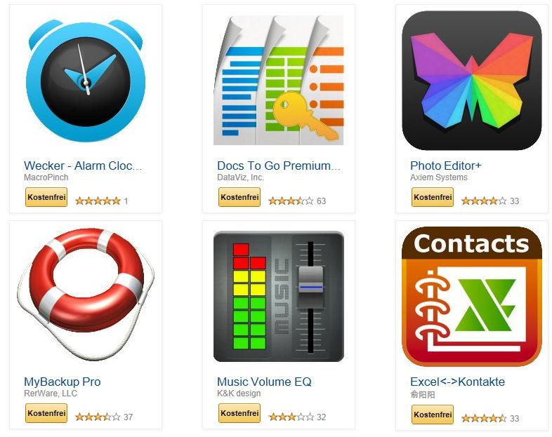 41 apps im wert von ber 100 euro gratis bei amazon. Black Bedroom Furniture Sets. Home Design Ideas