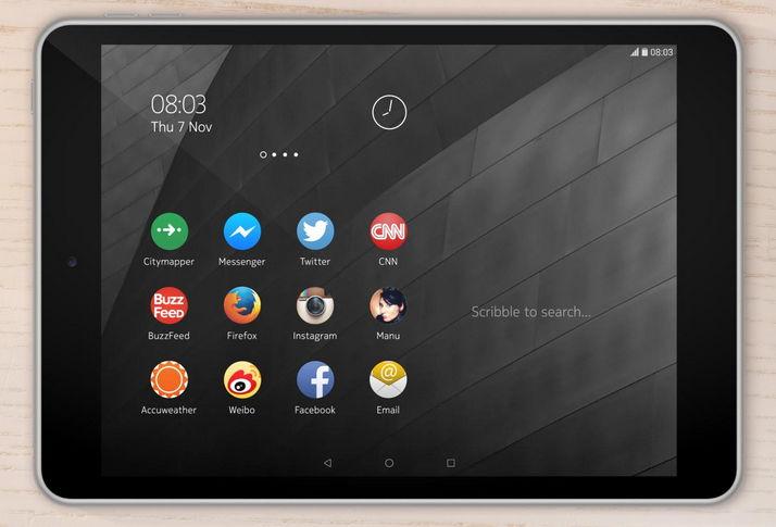 Nokia N1 vorgestellt: Tablet mit Android 5.0 Lollipop