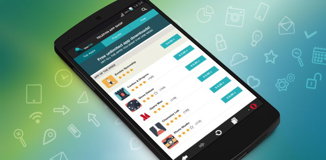 Opera kommt mit einem mobilen Abo Store