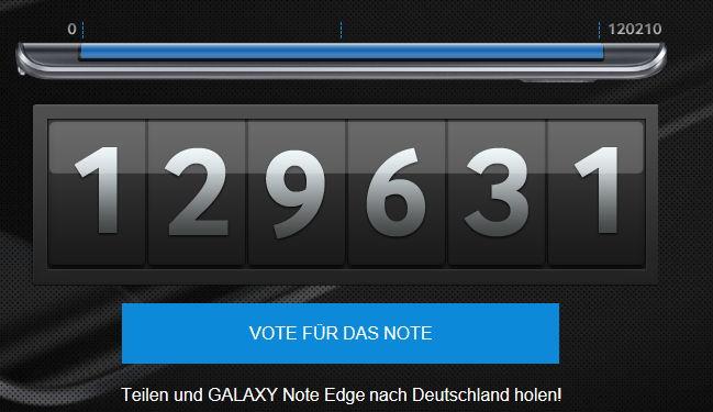Das Galaxy Note Edge kommt nun nach Deutschland