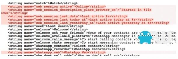 Webversion von WhatsApp auf dem Weg ?