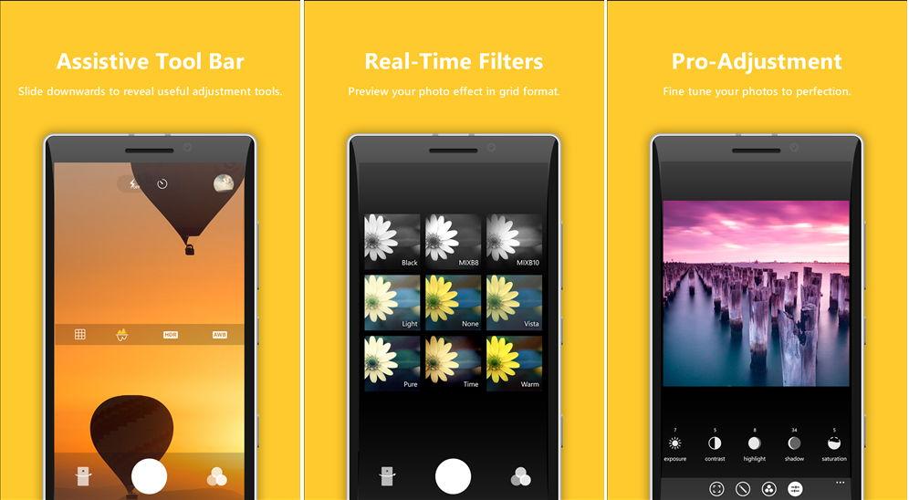 Aus Camera360 Pro (Beta) wurde nun Camera360 Sight (Final) Windows Phone