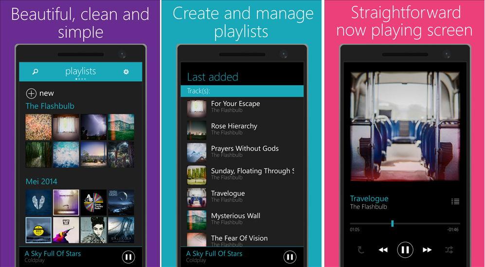 OneMusik  App für das Windows Phone heute kostenlos