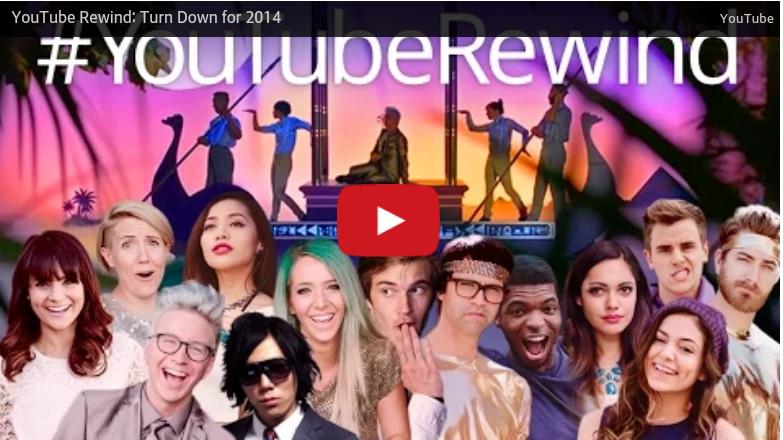 YouTube mit Jahresrückblick 2014