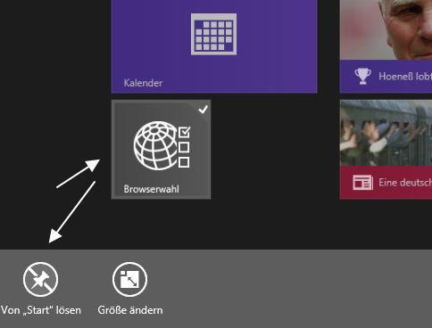 Microsoft muss nicht mehr mit der Browserauswahl nerven