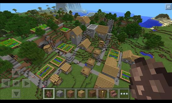Minecraft – Pocket Edition für das Windows Phone im Store