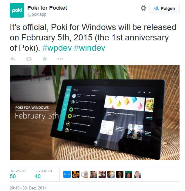 Poki kommt nun auch als App für Windows 8.x und natürlich dann Windows 10