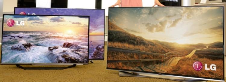 [CES 2015] LG mit neuen 4k TVs in Las Vegas