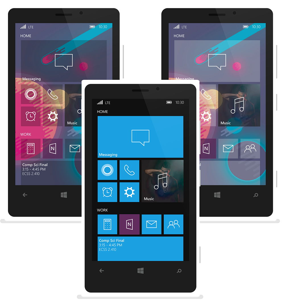 Windows (Phone) 10 Mobile  in einem neuen Konzept
