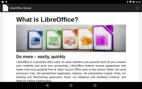 LibreOffice Viewer (Beta) für Android erschienen