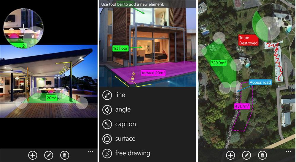 App des Tages: Measure Note – Winkel, Maße, Entfernungen auf einem Foto anzeigen lassen