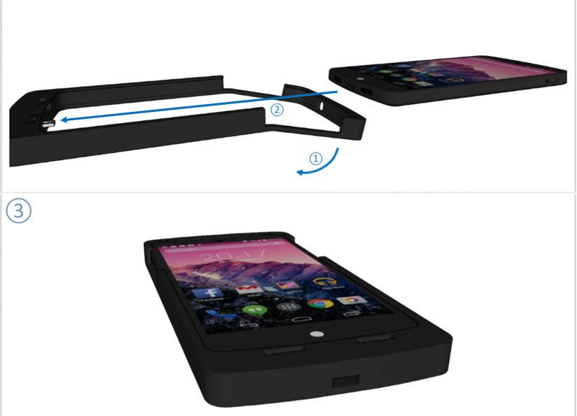ExoDrive Cases – MicroSD  für Smartphones ohne Micro-SD Slot nachrüsten