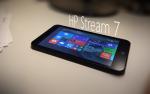 hp stream 7 gplus