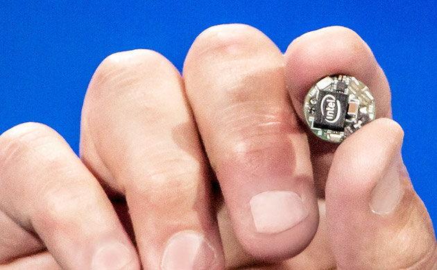 Intel stellt Curie als drittes Model für Wearables vor
