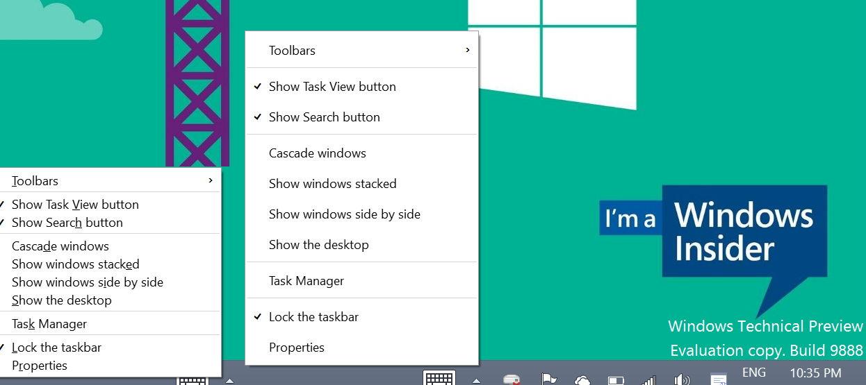 Windows 10 erkennt Maus oder Touch beim Kontextmenü (Video)