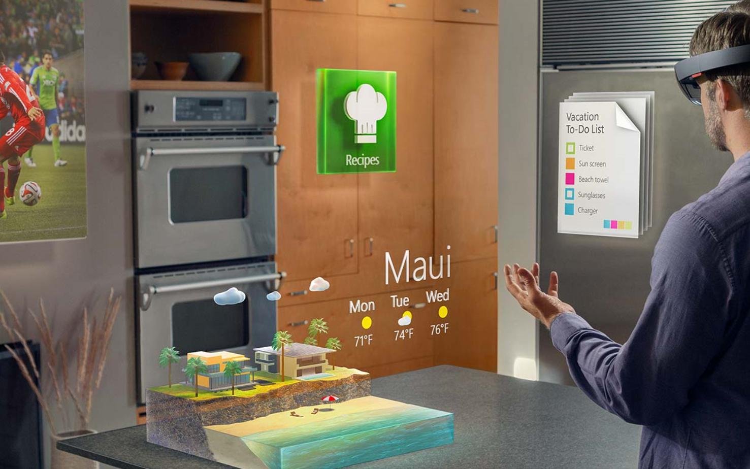 Microsoft HoloLens: Das wohl coolste Gadget im Jahr 2015