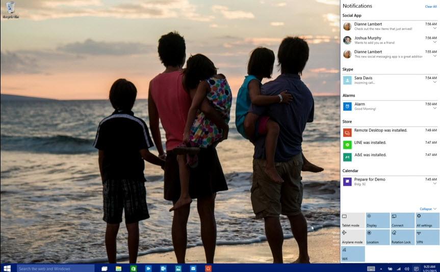 Windows 10: Cortana, Continuum, Cloud und mehr…