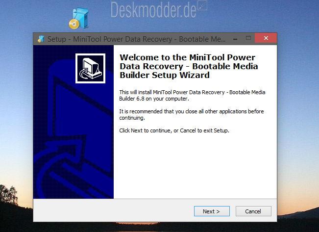 Giveaway: MiniTool Power Data Recovery Boot CD Verlorene Daten ...