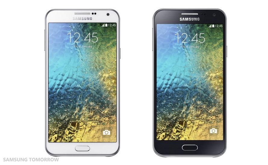 Samsung stellt das Galaxy E5 und E7 vor