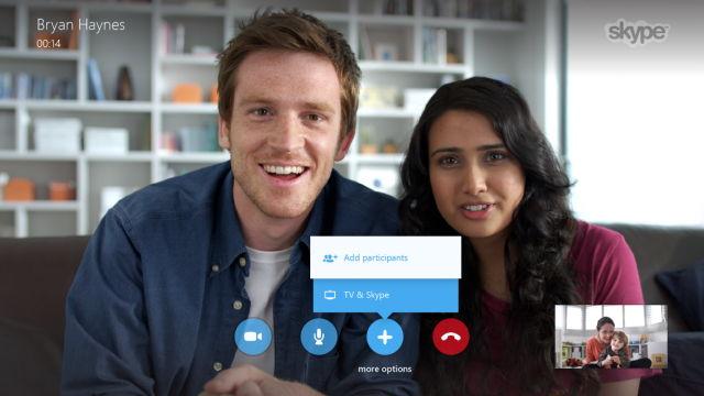Samsung Smart TV: Mit Skype nun auch kostenlose Gruppen Video Chats möglich