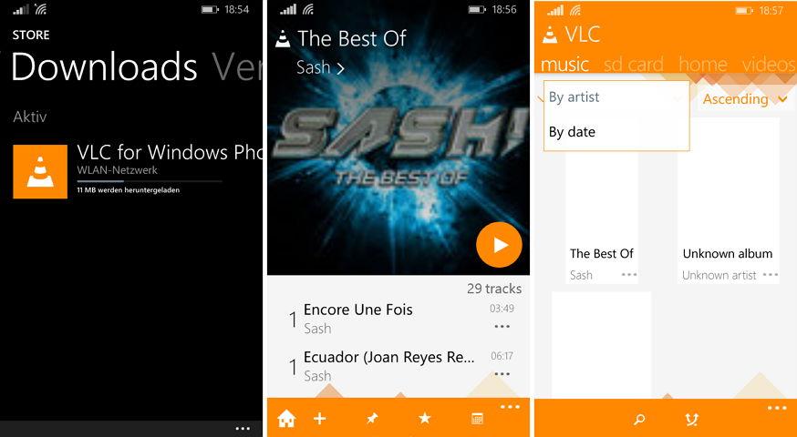 VLC für das Windows Phone steht nun für alle zum Download bereit