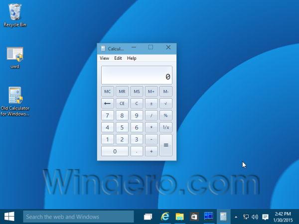 Windows 7 – 8 (Taschen)-Rechner in Windows 10 nutzen