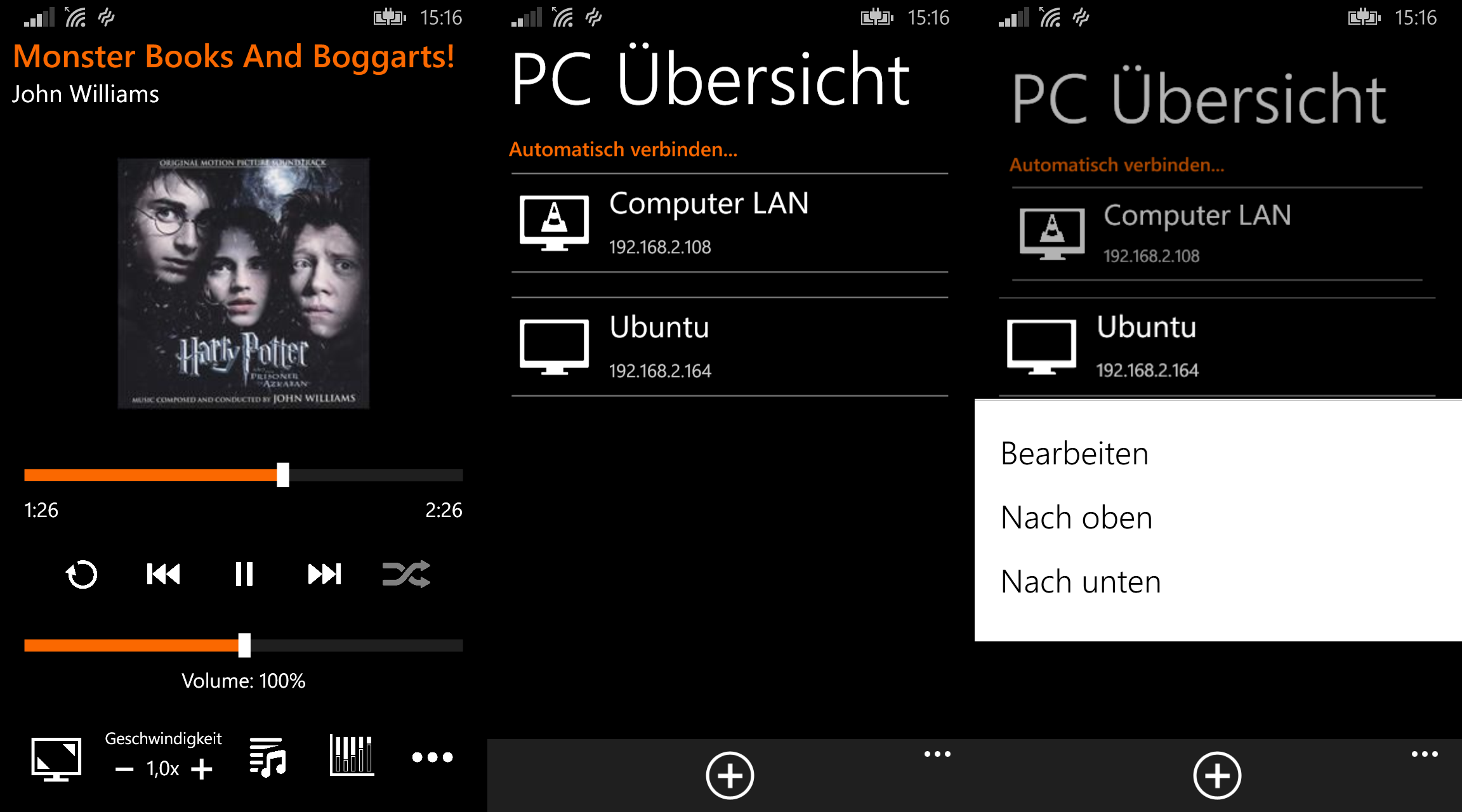 Remote VLC + für Windows Phone