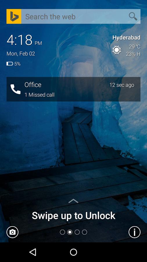 Picturesque Lock Screen – Neuer Lockscreen für Android aus dem Hause Microsoft