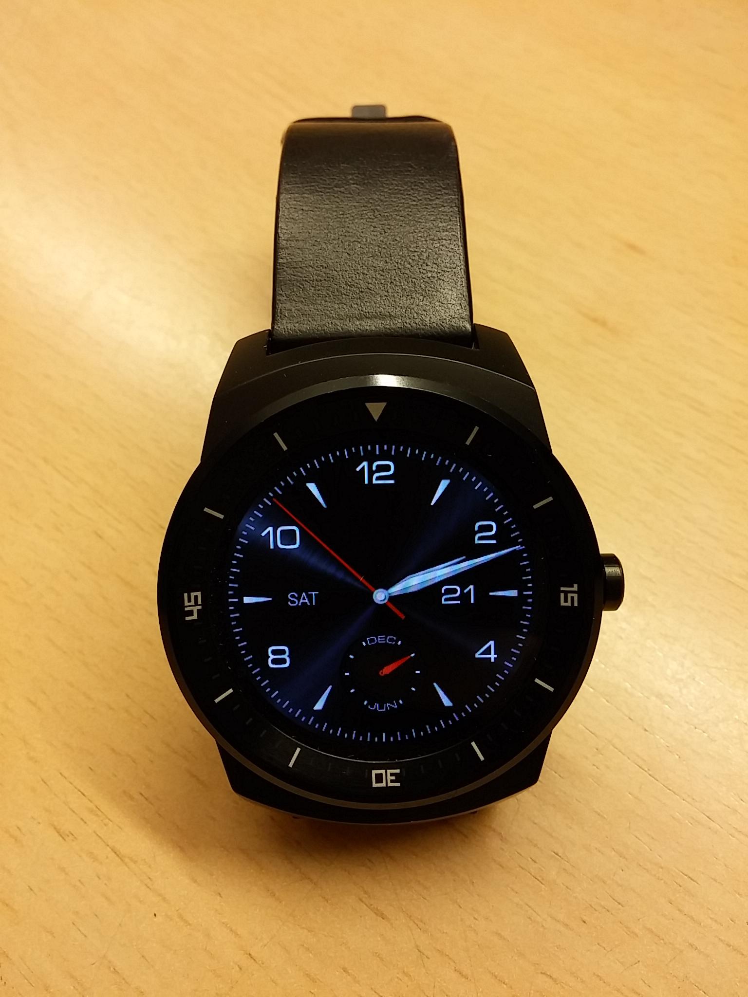 Die LG G Watch R im Test – Gut aber auch ausbaufähig