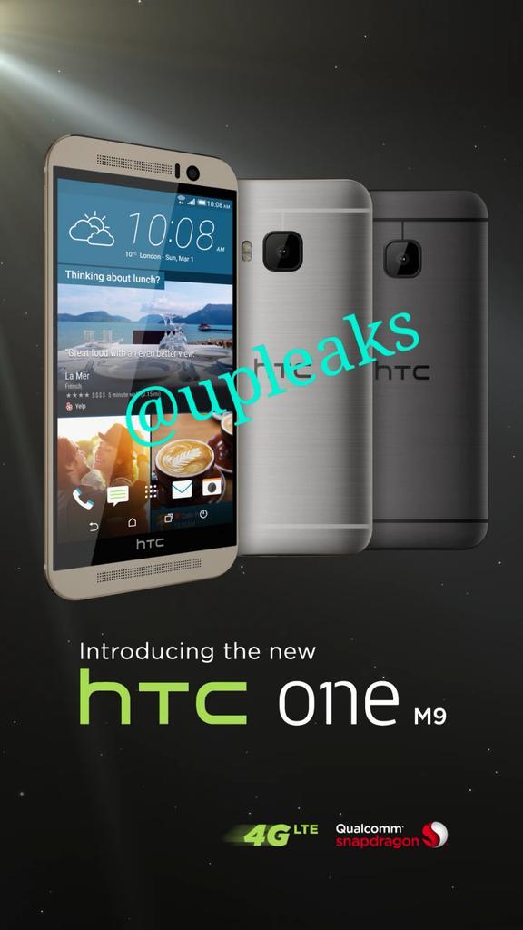 HTC One M9 – Weitere Bilder ins Netz gelangt