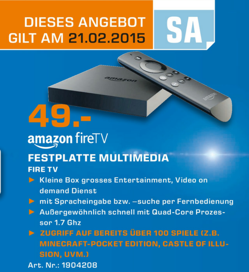 amazon fire tv aktuell g nstiger zu kaufen und als. Black Bedroom Furniture Sets. Home Design Ideas