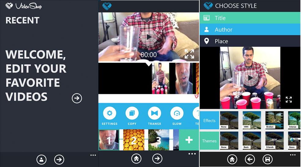 app des tages video shop f r das windows phone. Black Bedroom Furniture Sets. Home Design Ideas