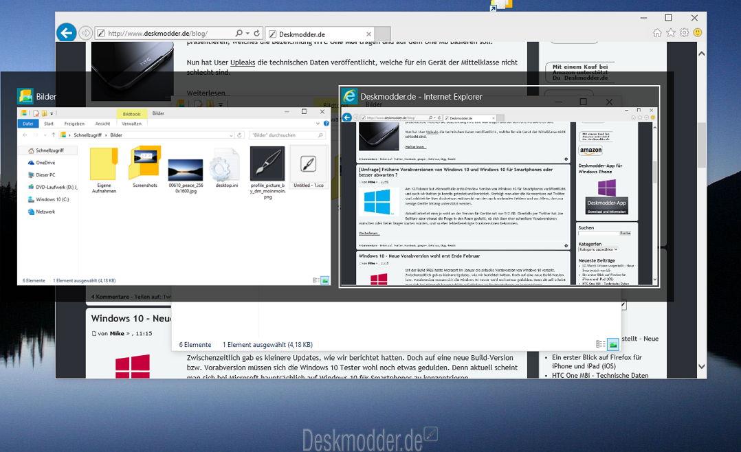 Fensterwechselvorschau im Windows 98 Stil? Kein Problem
