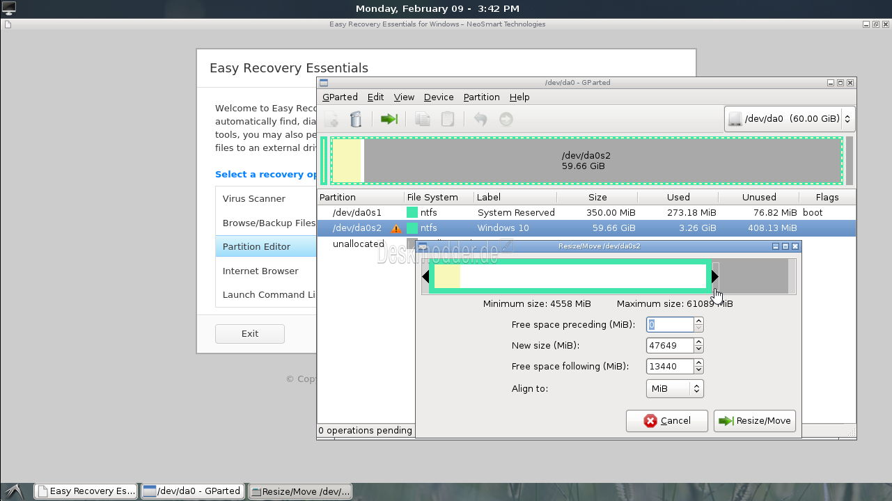 easy recovery essentials iso download