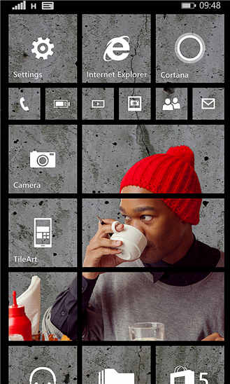 #TileArt – App zum Erstellen eures individuellen Windows Phone Startbildschirms von Microsoft