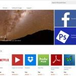 Neuer Microsoft App Store  zeigt sich
