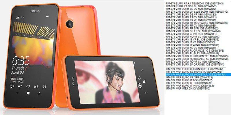 Lumia 635 mit 1 GB RAM gelistet